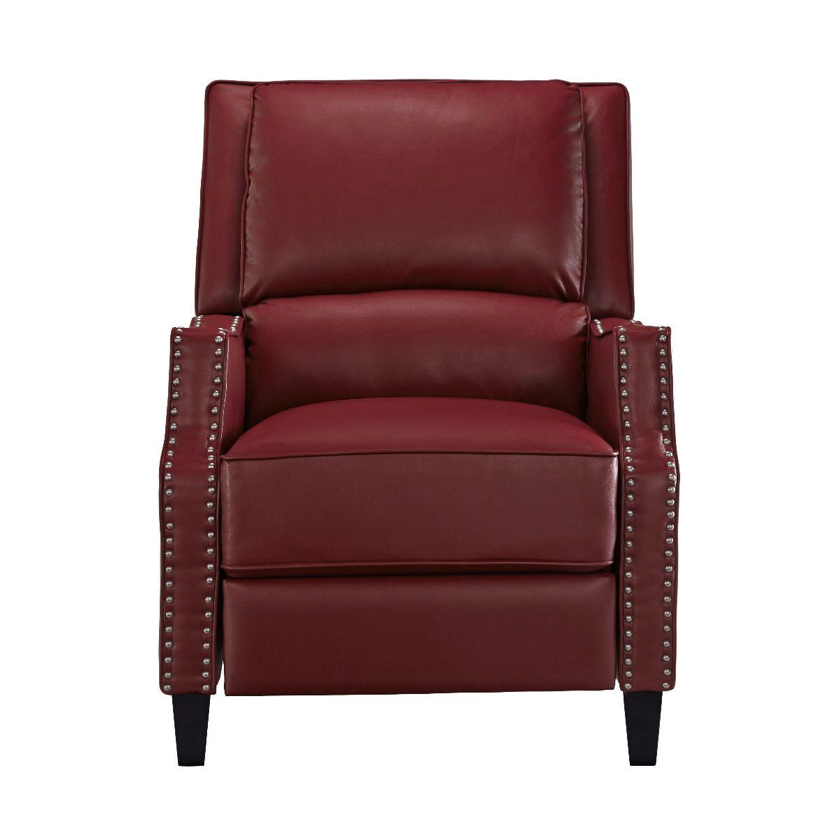 Alston Push Back Recliner, Red