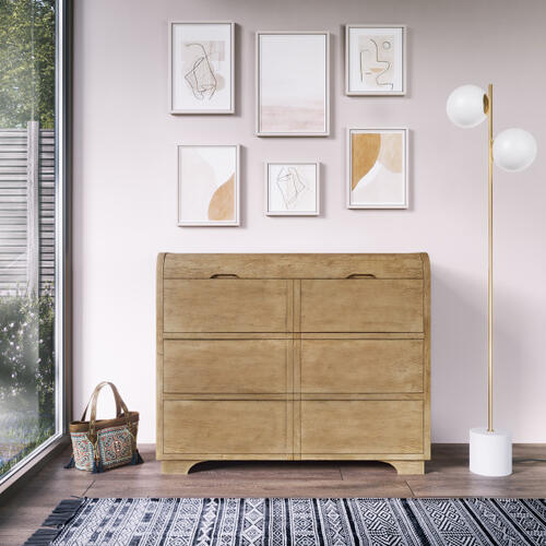 Three Drawer Chest with Jewelry Storage