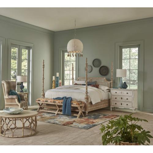 Savannah Rattan Bed