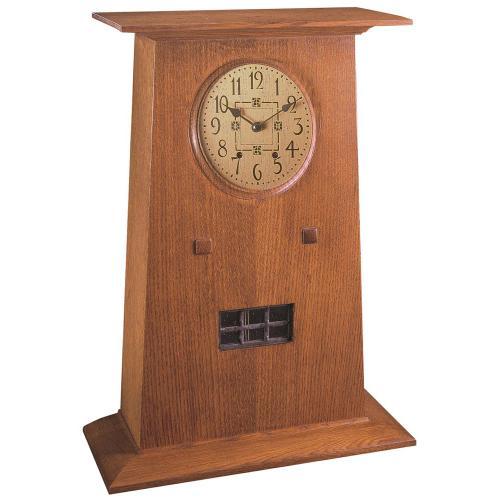 Stickley Furniture - Prairie-Style Mantel Clock