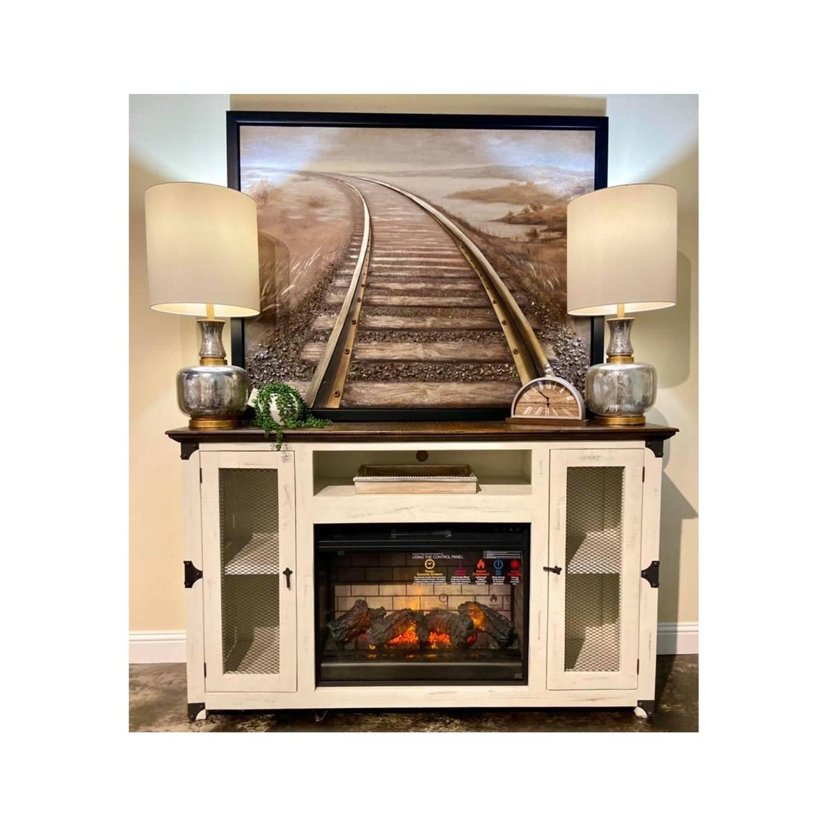 See Details - Mesh Fireplace Stand (MOQ 3)