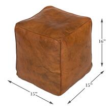 See Details - Sunday Afternoon Leather Cube