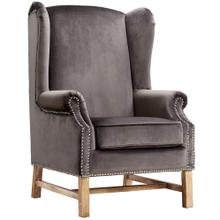 View Product - Nora Grey Velvet Chair