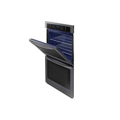 """30"""" Double Wall Oven with Wi-Fi in Black Stainless Steel"""