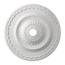 Brookdale Medallion 30 Inch in White Finish