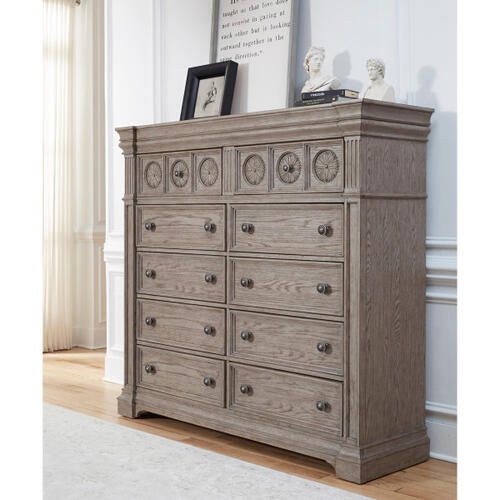Kingsbury 10 Drawer Master Chest