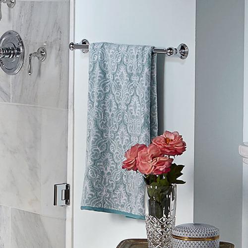 Dxv - Ashbee 24 Inch Towel Bar - Polished Chrome