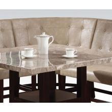 Cream Pu Dining Corner Chair
