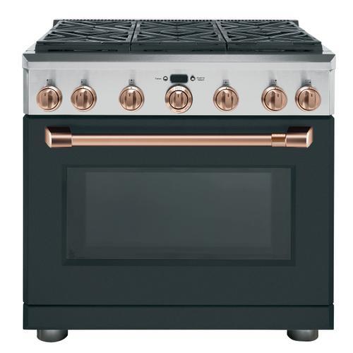 "Cafe - Café™ 36"" Dual-Fuel Professional Range with 6 Burners (Natural Gas)"