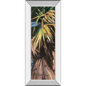 """""""Wild Palm I"""" By Suzanne Wilkins Mirror Framed Print Wall Art"""