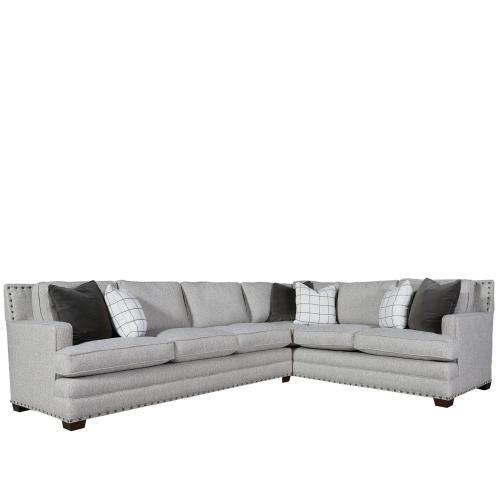 Universal Furniture - Riley Sectional Left Arm Sofa Right Arm Corner