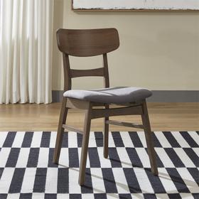 Panel Back Side Chair- Grey (RTA)