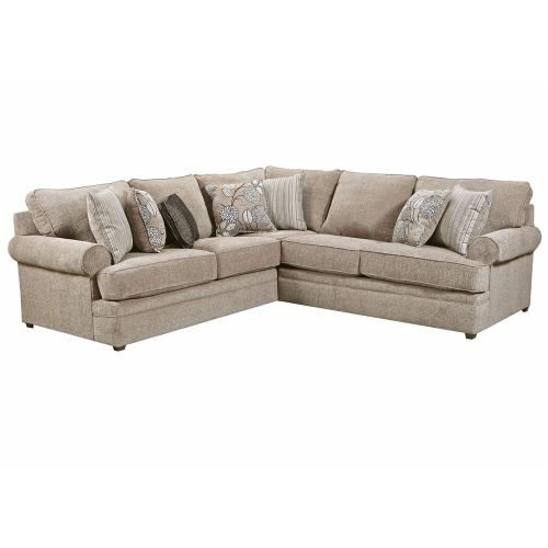 8530 Left Arm Facing Bump Sofa