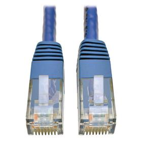 Cat6 Gigabit Molded (UTP) Ethernet Cable (RJ45 M/M), Blue, 1 ft.