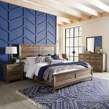 See Details - King California Panel Bed, Dresser & Mirror, Night Stand