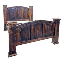 View Product - Queen Bed W/rails Slats Center