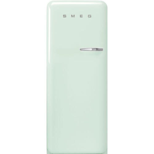 "24"" retro-style fridge, Pastel green, Left-hand hinge"