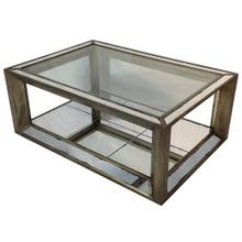 Aiden Mirrored Coffee Table
