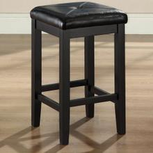 24 IN. Upholstered Square Stool