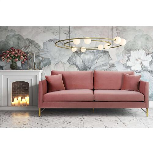 Tov Furniture - Massi Rose Velvet Sofa