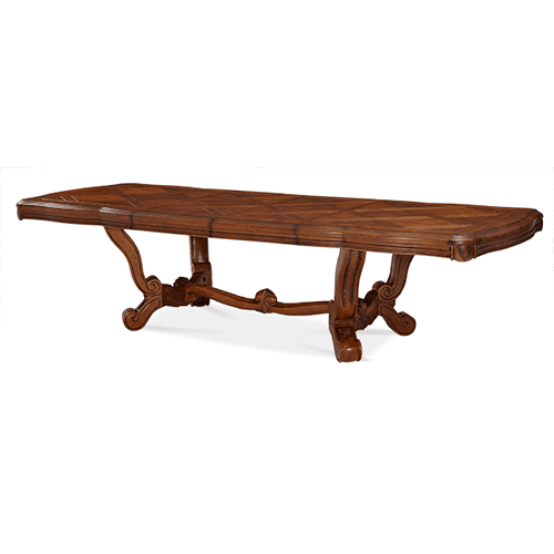 Trestle Rectangular Dining Table (2 pc)