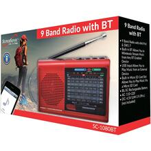 9-Band Bluetooth® Radio