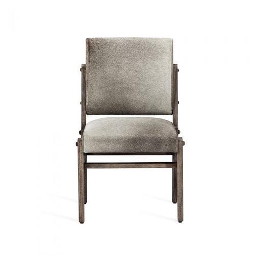 Hale Hide Dining Chair - Rustic Grey