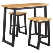 Town Wood Outdoor Counter Table Set (set of 3) Product Image