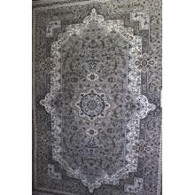 "Persian Design 1 Million Point Heatset Monalisa T06 Area Rugs by Rug Factory Plus - 5'4"" x 7'5"" / Gray"