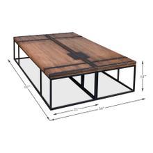 Antique Doors Coffee Table