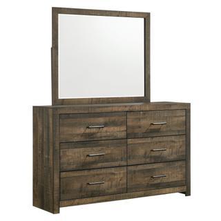 See Details - Bailey 6-Drawer Dresser & Mirror Set