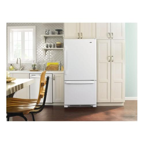 Amana® 22 cu. ft. Bottom-Freezer Refrigerator with Large Capacity