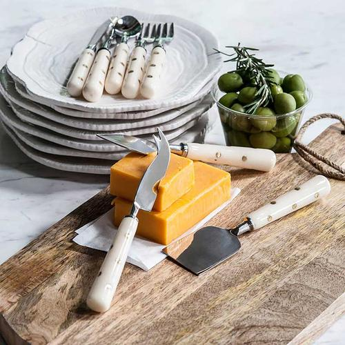 A & B Home - S/3 Cheese Servers