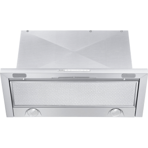 MieleDA 3466 - Built-in ventilation hood with energy-efficient LED lighting and backlit controls for easy use.