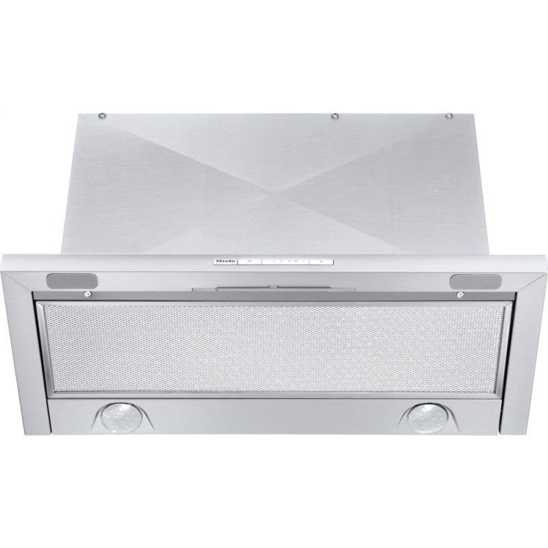DA 3466 - Built-in ventilation hood with energy-efficient LED lighting and backlit controls for easy use.