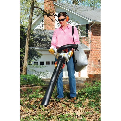 A fuel-efficient shredder vac/blower with the convenience of the Easy2Start™ System.