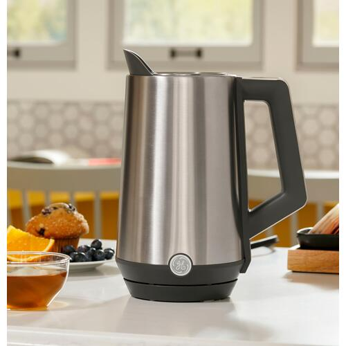 GE Appliances - GE Cool Touch Kettle with Digital Controls