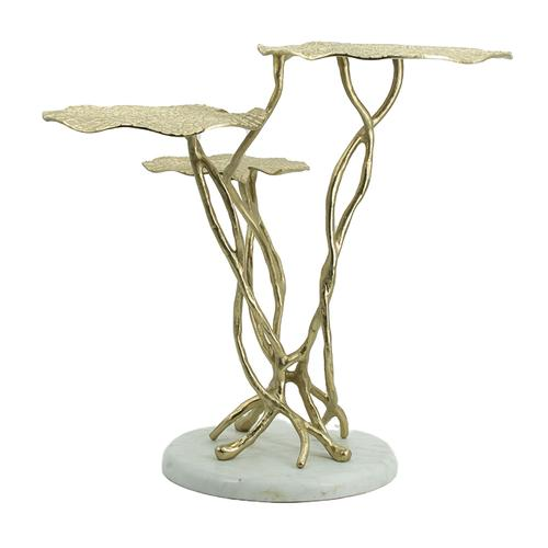 A & B Home - 3 Tier End Table