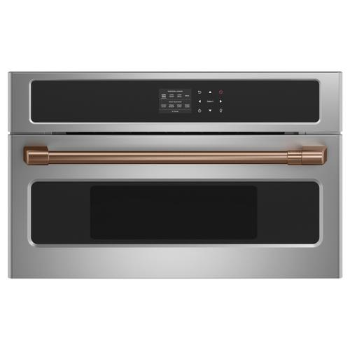 "Café Wall Oven/Advantium® oven pro handle kit - 27"" - Brushed Copper"