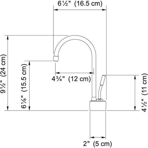 Franke - LB7280C Satin Nickel