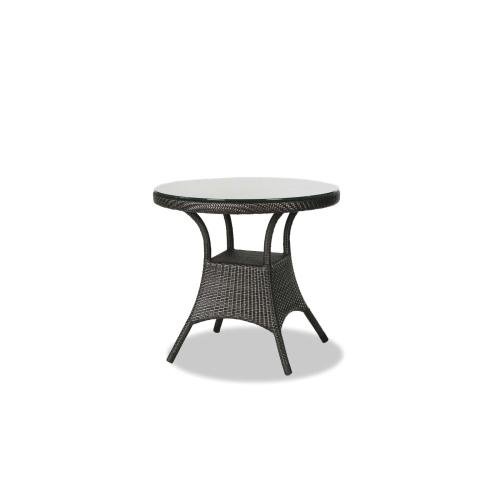"""Palm Harbor 32"""" Round Dining Table w/Clear Glass"""