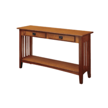 See Details - Mission Sofa Table