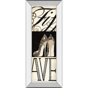 """""""Fifth And Madison Ill """" By Marco Fabiano Mirror Framed Print Wall Art"""