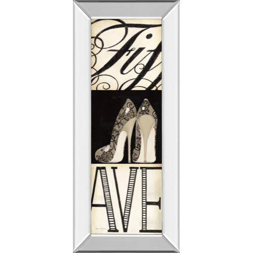 """Classy Art - """"Fifth And Madison Ill """" By Marco Fabiano Mirror Framed Print Wall Art"""