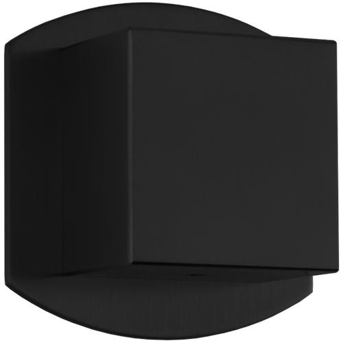 3-Way Diverter Trim Kit, SQU + Safire Black