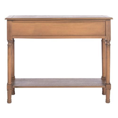 Safavieh - Primrose 2 Drawer Console Table - Brown