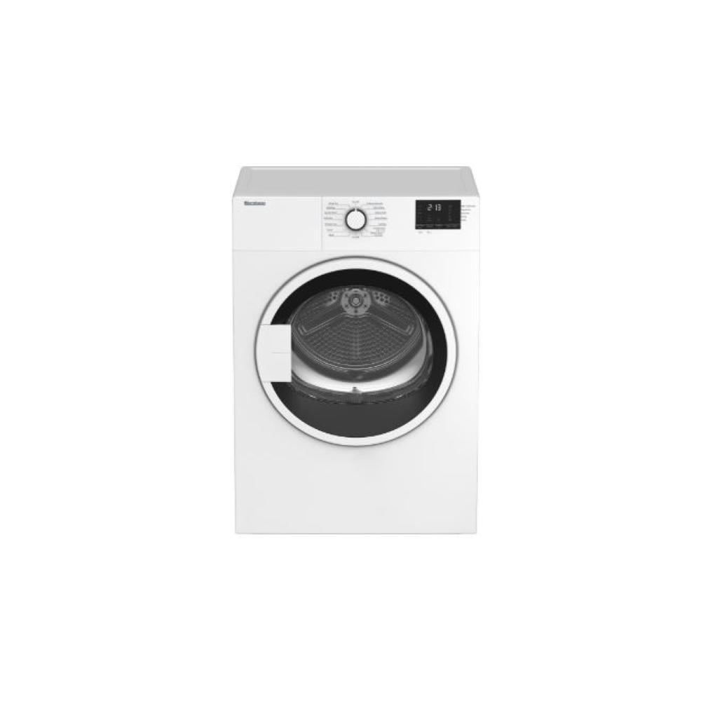 24 in vented electric dryer, white