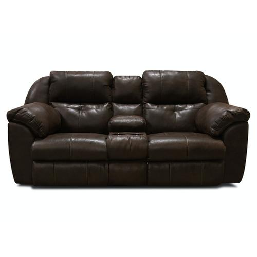 Alexvale - V6D85R Double Reclining Loveseat Console