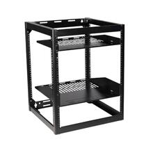 15U AV Rack Stackable Open Frame Network Rack