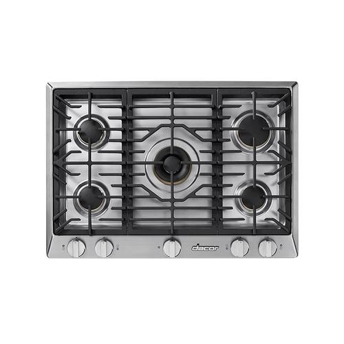 "30"" Professional Gas Cooktop, Liquid Propane/High Altitude"